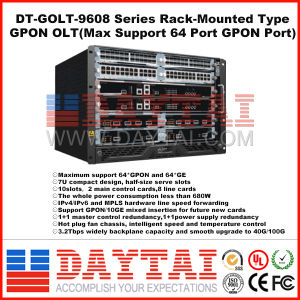 High Quality 140gbps 8 Port Gpon Olt pictures & photos