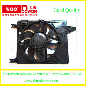 Auto Parts 21481-Je30A-A128 for Nissan Qashiqai Electric Cooling Fan