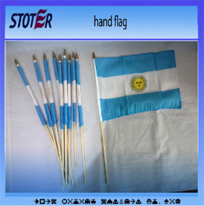 100%Polyester All Countries Hand Flag