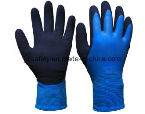 Latex Work Glove with Sandy Latex Coated (LRS3033) pictures & photos