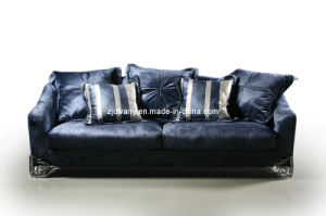 Post-Modern Stylel Living Room Fabric Seats Sofa (LS-102B) pictures & photos