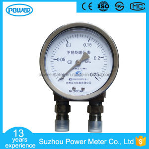 100mm All Stainless Steel Case Static Pressure Differential Pressure Gauge pictures & photos