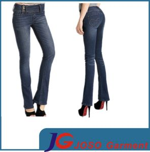 Lady Fashion Bootcut Skinny Jeans Pants Apparel (JC1313) pictures & photos