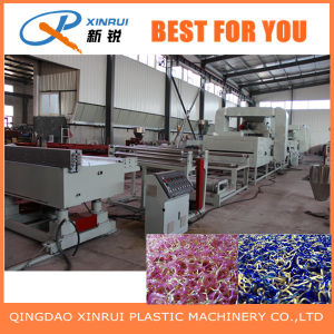 PVC Plastic Auto Foot Mat Extruder Production Line pictures & photos