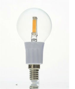 Tailed C35 1.6W 210lm Ww E27 COB LED Bulb pictures & photos
