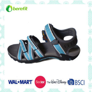 TPR Sole and PU Upper, Women′s Sandals pictures & photos