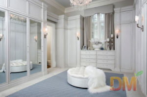 Luxury Contemporary Cream Bedroom Furniture Wardrobe