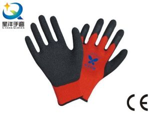 Latex Palm Coated Thumb Fully Coated Safety Work Glove pictures & photos