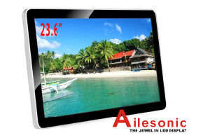 23.6-Inch LCD Advertising Player, Digital Signage pictures & photos
