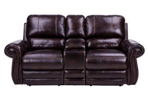Home Furnishings Transitional Motion Cornersofa, Wipe off Leather Sofa pictures & photos