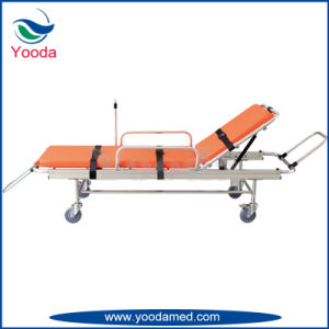 Aluminum Alloy Folding Ambulance Stretcher pictures & photos