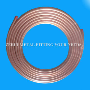 9.52X0.91mm Seamless Soft Annealed Pancake Coil Copper Tube pictures & photos