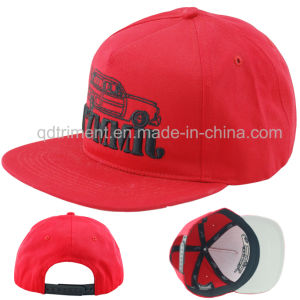 Promotion Custom Flat Bill Snapback Embroidery Leisure Baseball Cap (TMFL6499-1) pictures & photos