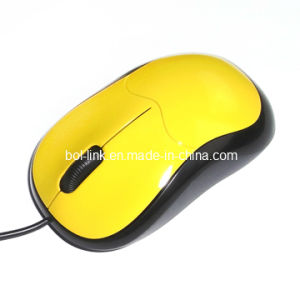 Various Shell Colors Wired Optical Mouse (CYM-8013)