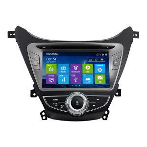 Special Car DVD with GPS Navigation System for New Elantra 2012 with Philips Tuner (IY8053)