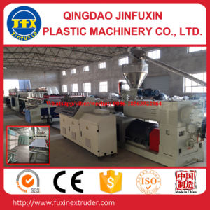 PVC Construction Crust Foam Plate Extruder Machine pictures & photos