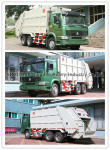 HOWO Garbage Truck 6*4 (ZZ3257N3847A) pictures & photos