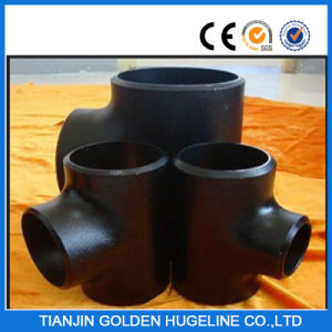 Asme B16.9 Steel Pipe Fittings Tee pictures & photos