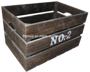 Handmade Vintage Look Customized Chic Wooden Crates For Storage
