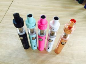 China Hot Sales 510 Trend Slim Vape Pen Jomo Royal 30W Vaporizer Pen pictures & photos