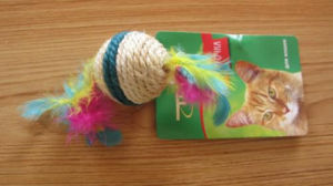 Feather Sisal Ball, Pet Toy pictures & photos