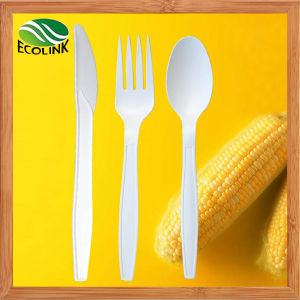 Disposable Biodegradable Tableware with Corn Starch Material pictures & photos