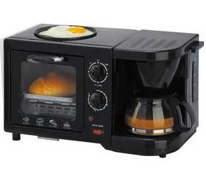 3 in 1 Electric Oven Breakfast Maker Coffee Maker pictures & photos
