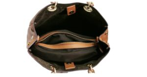 Brown Leather Fashion Ladies Bag pictures & photos