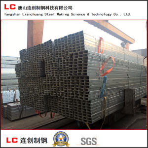 Hot Dipped Galvanized Rectangular Pipe Znic Coating 275G/M2 pictures & photos
