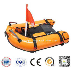 Scuba Diving Inflatable Gangway Float Boat with Dive Flag