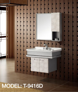 Modern Hotel Bathroom Vanity (T-9416D) pictures & photos