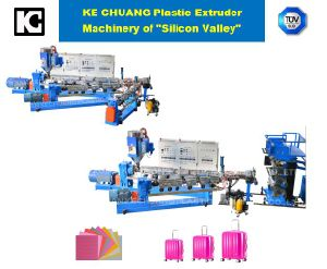 Professional Plastic Exdruder Machinery for Luggage pictures & photos