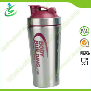 26 Oz Wholesale BPA-Free Metal Gym Shaker (SS-A1)