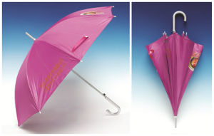 Auto Open Advertising Pongee Straight Umbrella (SK-007) pictures & photos