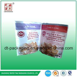 Stand up Pet/CPP Material Fried Dumpling Pouch