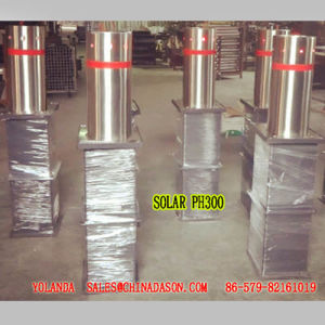 Semi-Automatic Bollard with Sollar Lights pH300-L pictures & photos