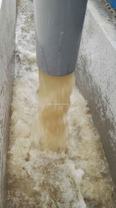 Purification of Surface Water by Fiber Cloth Filter pictures & photos