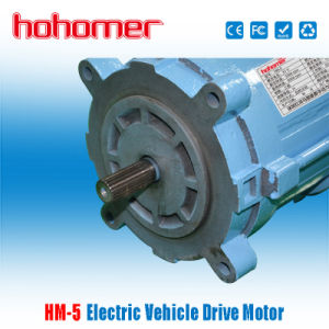 Ev Ac Motors For Electrical Police Car 5kw Dc72v