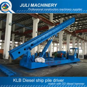 Diesel Pile Driver, Ship Pile Driver, Ship Piling Machine