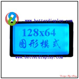 LCD LCM Stn Blue Standard Character Modules 128*64 pictures & photos