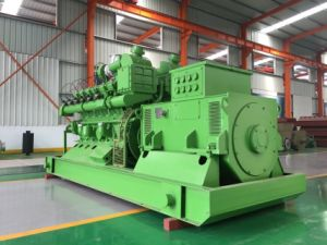Green Power China Lvhuan 500kw Nature Gas Turbine Power Plant