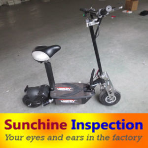 Electrical Scooter Quality Control Inspection in China