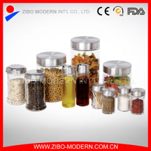 Most Popular 11PC Food Candy Spices Seasoning Food Glass Storage Jar Set pictures & photos