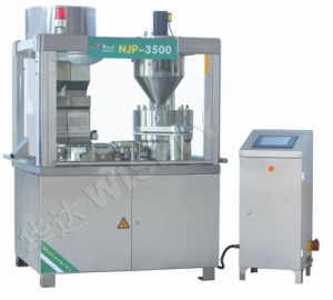 Njp-3500/3200 Fully Automatic Capsule Filling Equipment for Pellets and Tablets