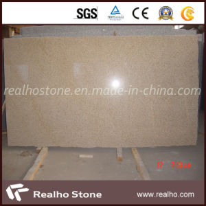 G682 Misty Yellow Granite Slab for Countertop