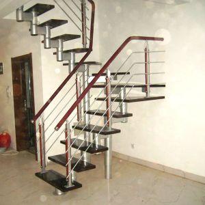 aluminum stairs balustrade handrail 2 - Aluminum Stairs