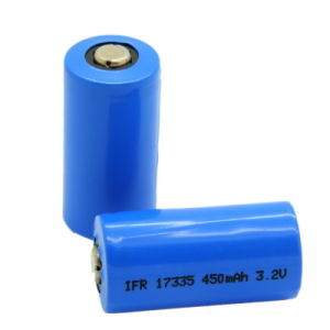 3.2V/450mAh IFR17335 LiFePO4 Battery With UL/Un/RoHS Marks
