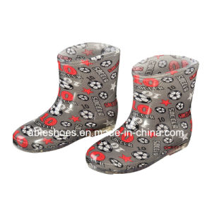 PVC Wellington Boots Crystal Design Kids Wellington Girls