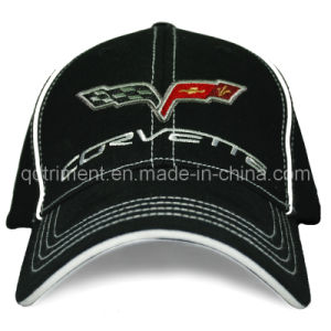 Stretchable Twill Full Size Embroidery Golf Baseball Cap (TRB049) pictures & photos