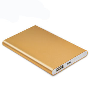 Wafer Power Bank Portable Phone Charger Alloy Power Bank pictures & photos